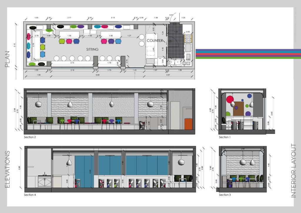 Concept design per bar - ER INTERIOR // DESIGN