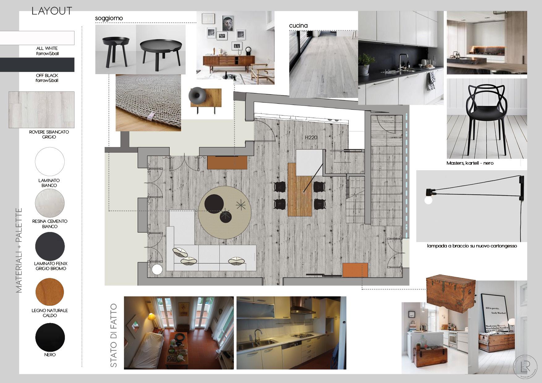 Ristrutturazione di casa al mare er interior design for Progetti design interni