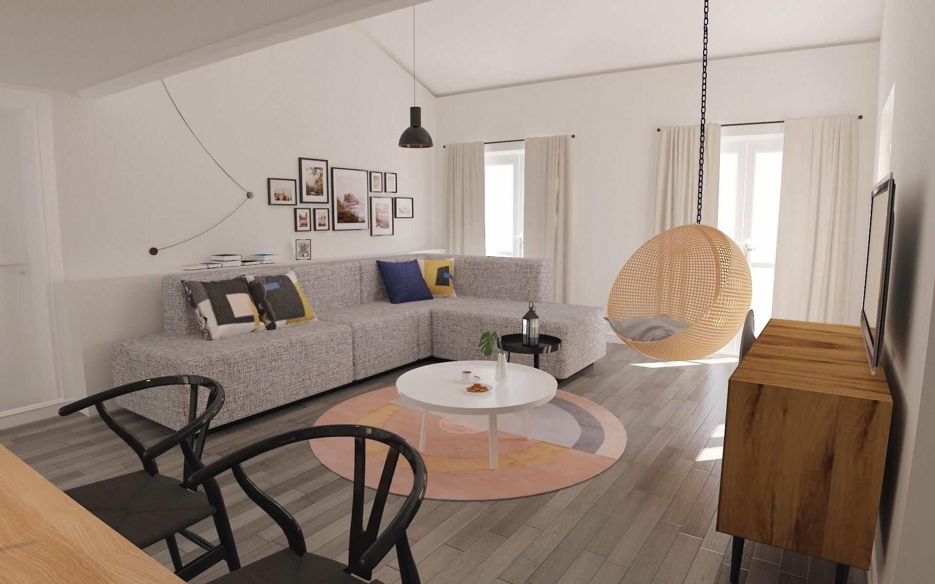 Ristrutturazione di casa al mare er interior design for Interni e design